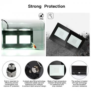 100w led Outdoor Security floodlight Outside Lights Waterproof IP66