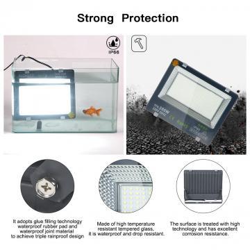 LED Flood Light Flood Light star-50W LED Garage Light Garden Light Super Light IP66 Waterproof Level 6000K Outdoor Light