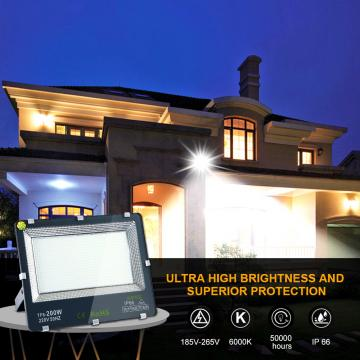200w led Outdoor Security Lights Outside Garden Light Waterproof IP65