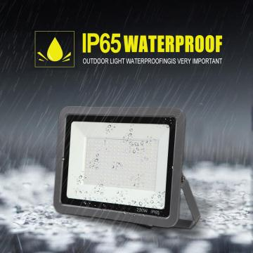 200w Outdoor Security floodlight  Waterproof daylight Outside Lights