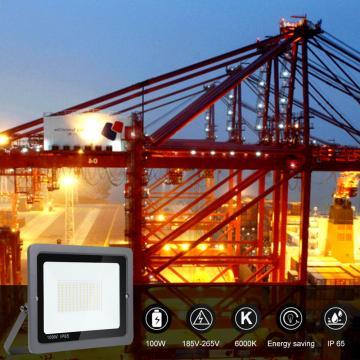 100w led floodlight Waterproof IP65 daylight white LED Garage Lights