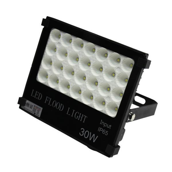 Led floodlight 30w waterproof IP65 outdoor 6000k daylight white safety spotlight high output 3000lumen super bright LED floodlight garden parking lot hotel [Energy Class A]