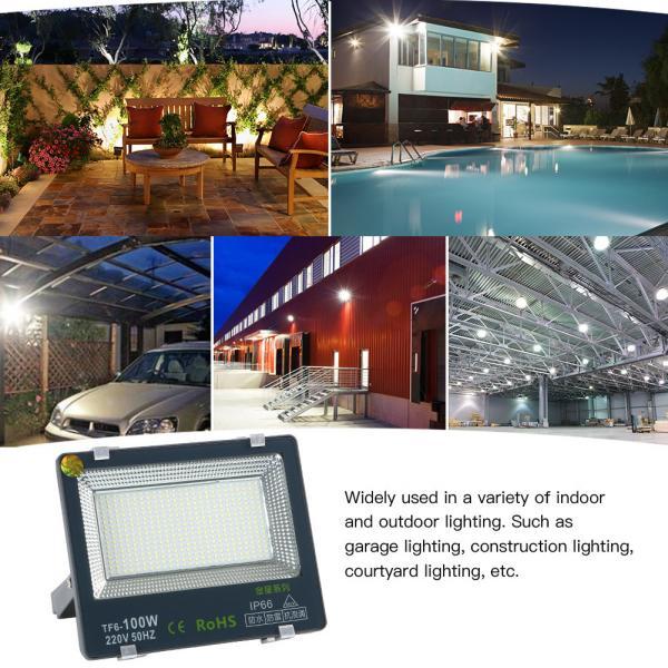 100w led Outside Flood Garage Lights Waterproof IP65 daylight white