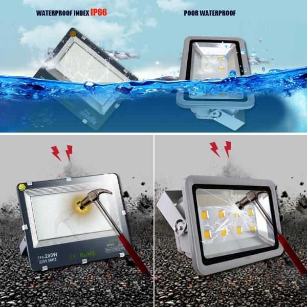 200w led Outdoor Security Lights Outside Garden Light Waterproof IP65