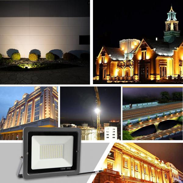 100w led floodlight Waterproof IP65 daylight white LED Garage Lights